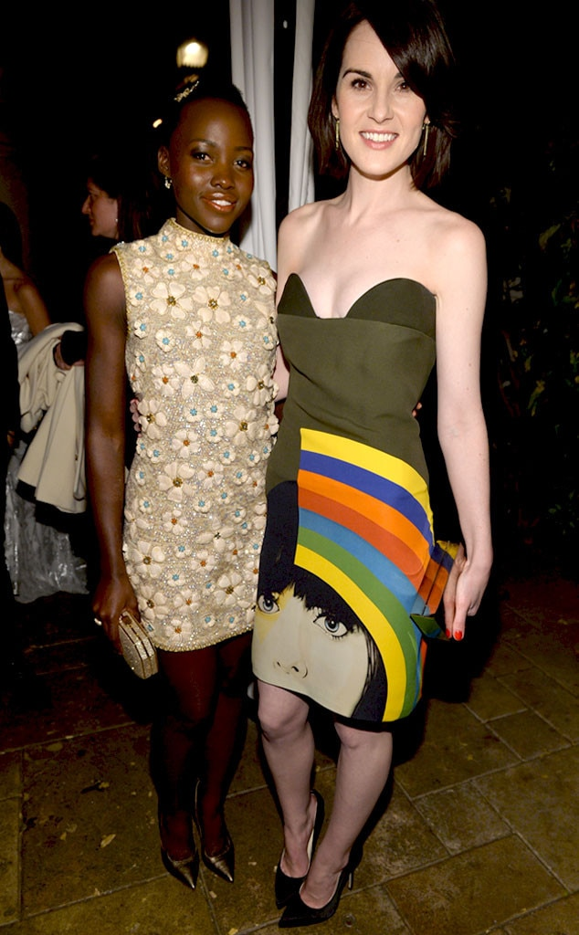 Lupita Nyong'o, Michelle Dockery
