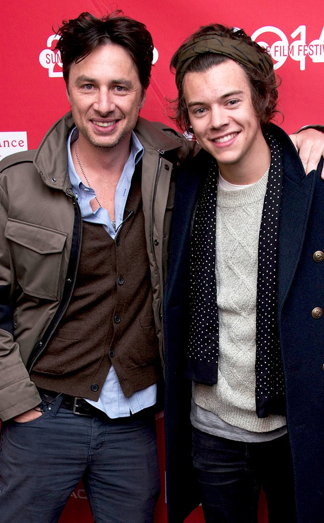 Zach Braff, Harry Styles, 2014 Sundance Film Festival