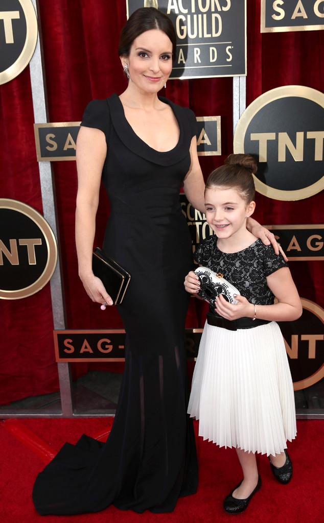 Tina Fey, Alice Zenobia, SAG Awards, Oscar de la Renta