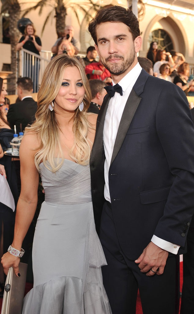 Kaley Cuoco, Ryan Sweeting, SAG Awards