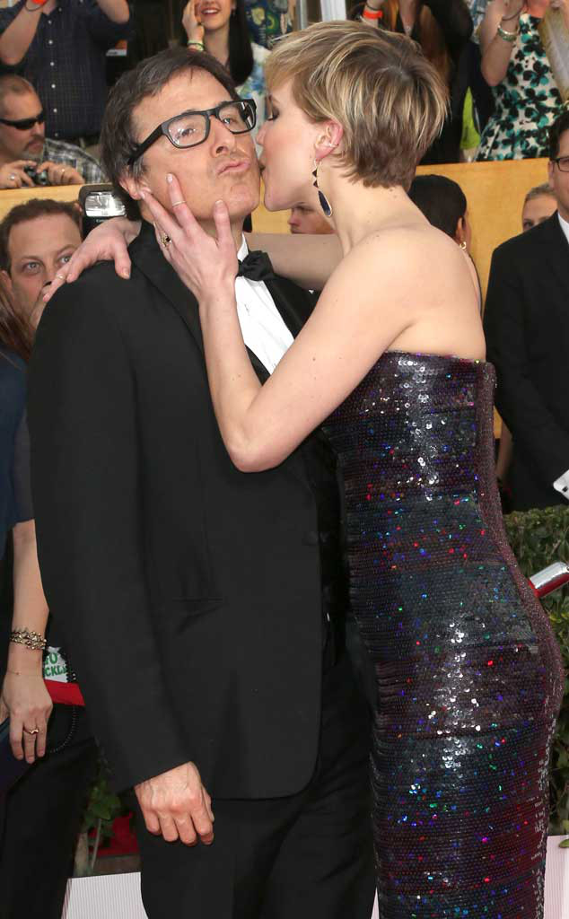 David O. Russell, Jennifer Lawrence, SAG Candids