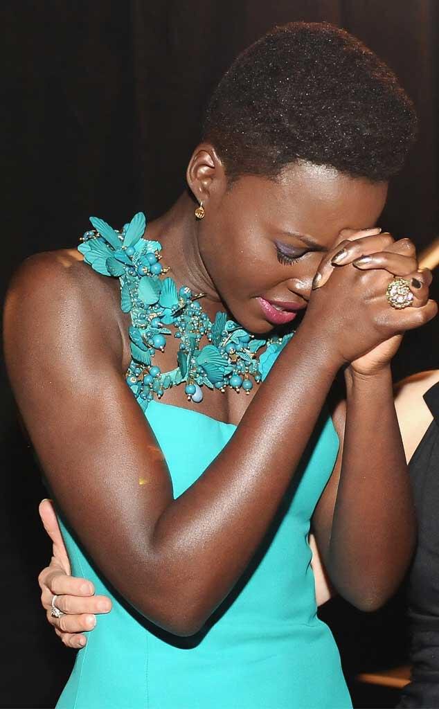 Lupita Nyong'o, SAG Candids
