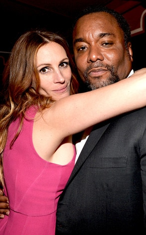 Julia Roberts, Lee Daniels, SAG Parties