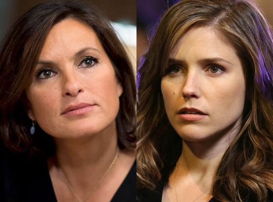 Mariska Hargitay, Law & Order, Sophia Bush, Chicago P.D.
