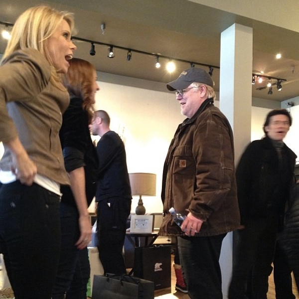 Cheryl Hines, Molly Shannon, Phillip Seymour Hoffman, Instagram