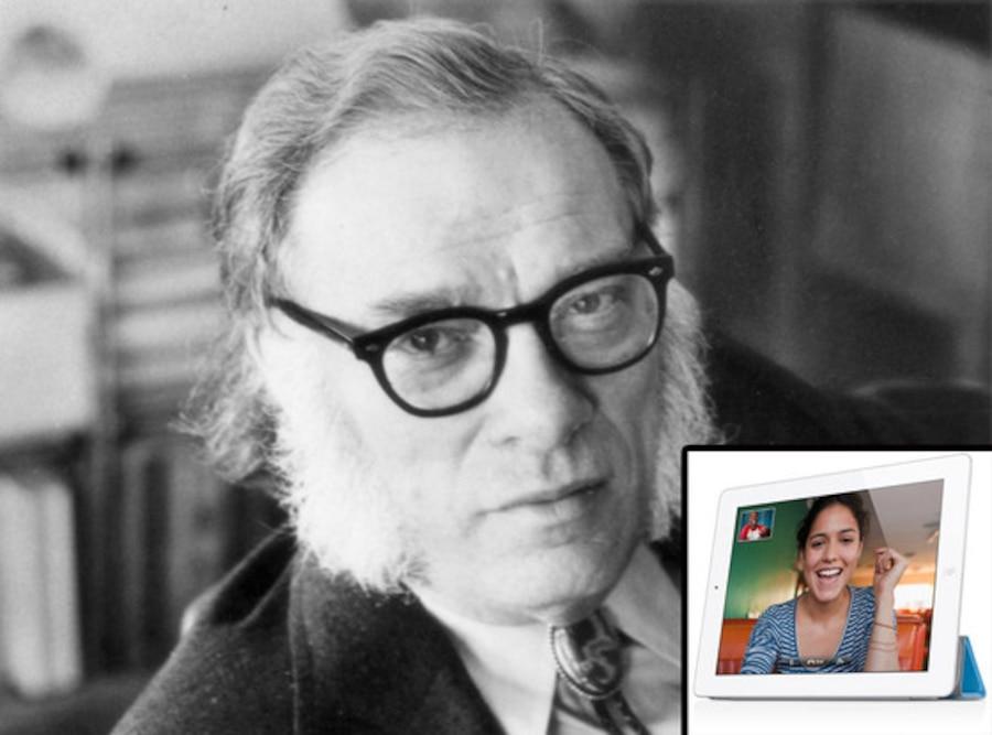 Isaac Asimov, IPad Facetime