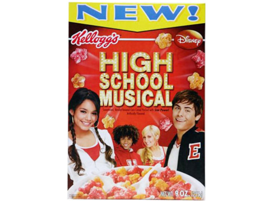 High School Musical cereal