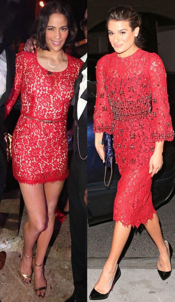 Paula Patton, Lea Michele