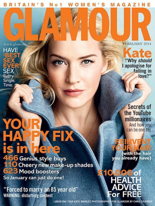 Kate Winslet, Glamour UK Cover