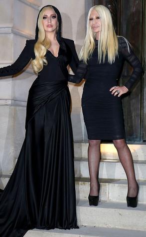 Lady Gaga, Donatella Versace