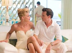 Amber Heard, Johnny Depp, The Rum Diary