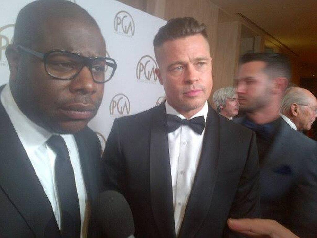 Malkin Twit Pic, Steve McQueen, Brad Pitt