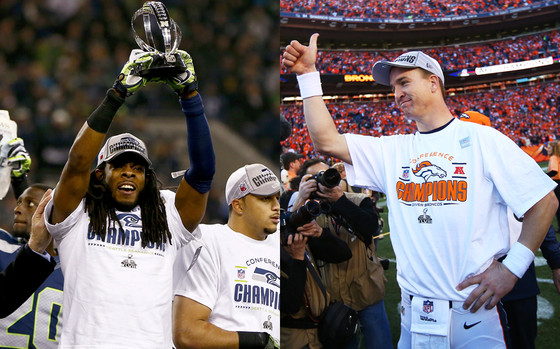 Richard Sherman, Peyton Manning