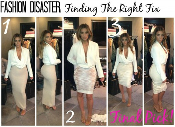 Kim Kardashian, Fashion Disaster Blog