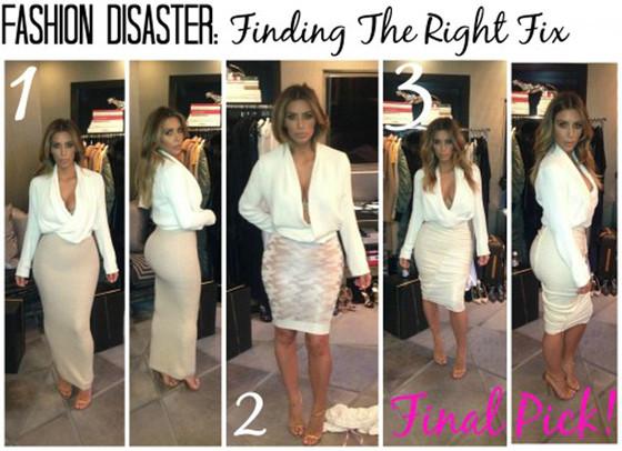 Kim Kardashian, Fashion Disaster Blog