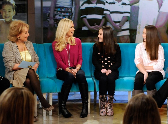 Kate Gosselin, Twins, The View