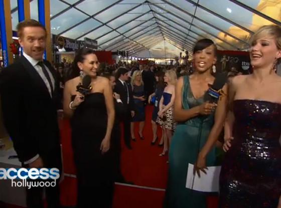 Jennifer Lawrence, Damian Lewis
