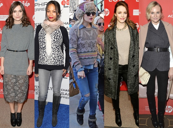 Keira Knightley, Zoe Saldana, Kate Hudson, Rachel McAdams, Diane Kruger