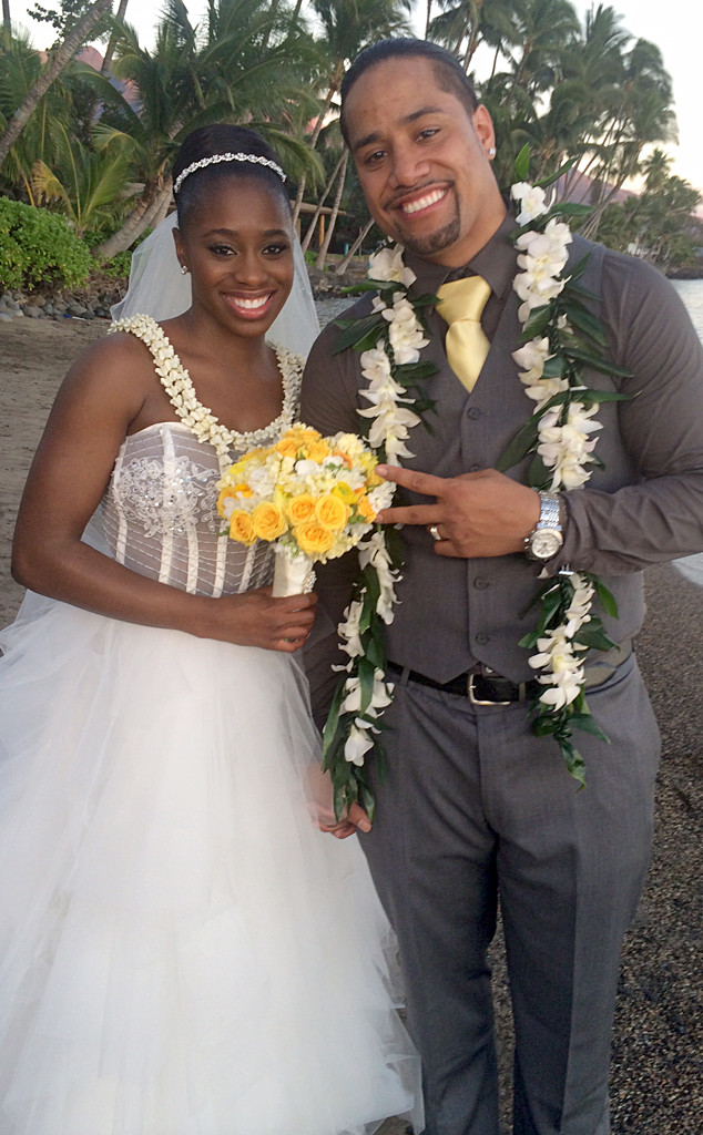 Jonathan Fatu, Trinity McCray, Total Divas Wedding