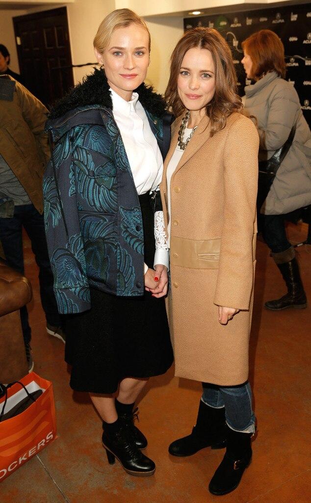 Diane Kruger, Rachel McAdams, Sundance