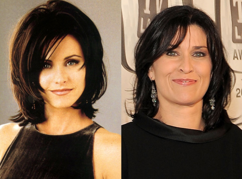 Nancy McKeon, Courteney Cox. Friends