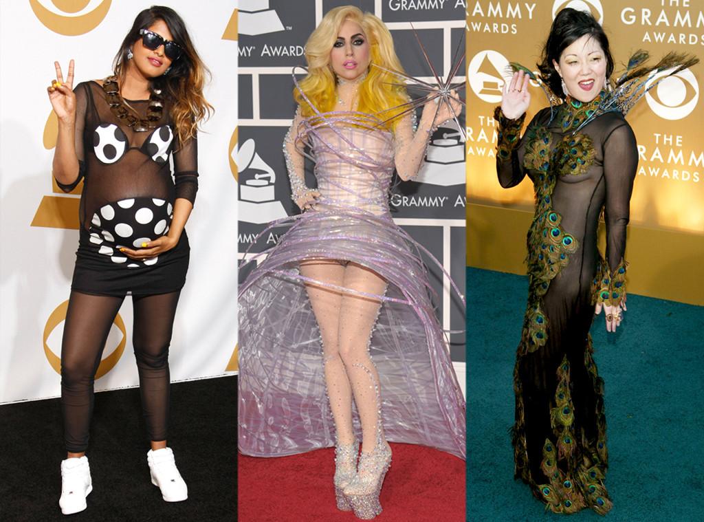 M.I.A., Lady Gaga, Margaret Cho, Risky Grammy Looks