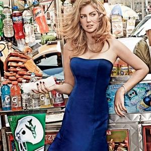 Kate Upton, Vogue Superbowl