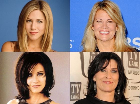 Lisa Whelchel, Jennifer Aniston, Friends, Nancy McKeon, Courteney Cox