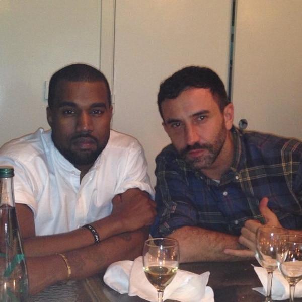 Kanye West, Kim Kardashian, Instagram