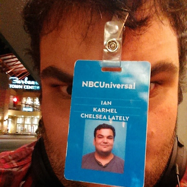 Ian Karmel, Chelsea Lately