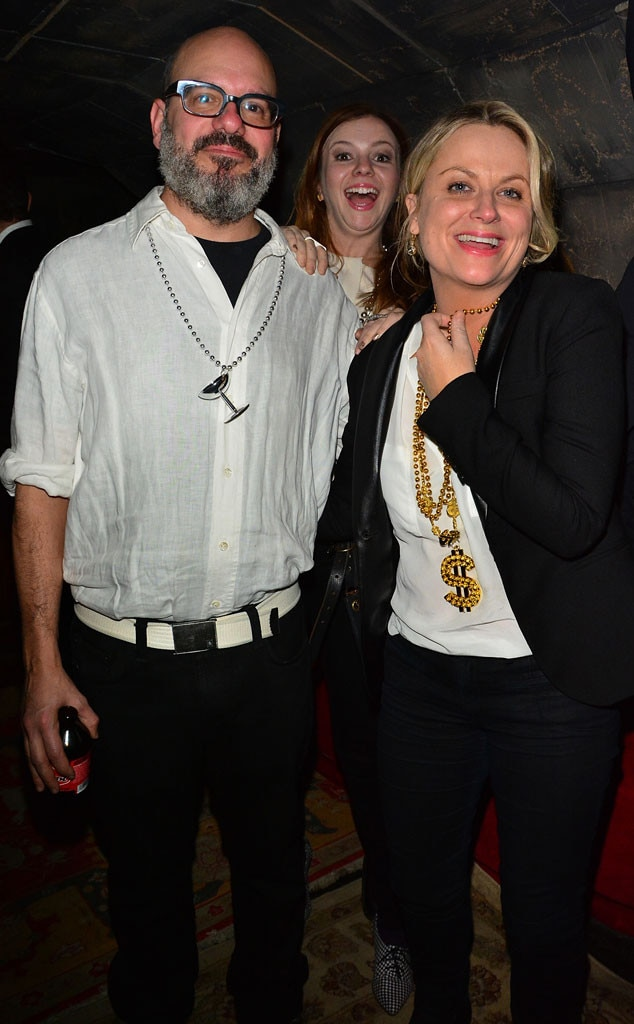 David Cross, Amber Tamblyn, Amy Poehler, Photobomb