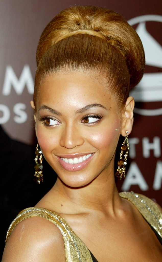 2005 from beyonc233s hair through the years e news