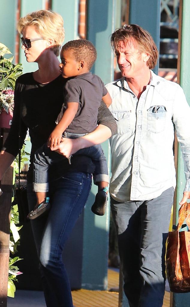 Charlize Theron, Sean Penn, Jackson