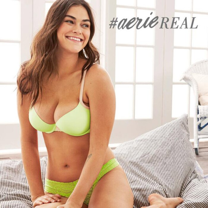 Aerie Lingerie Campaign, American Eagle