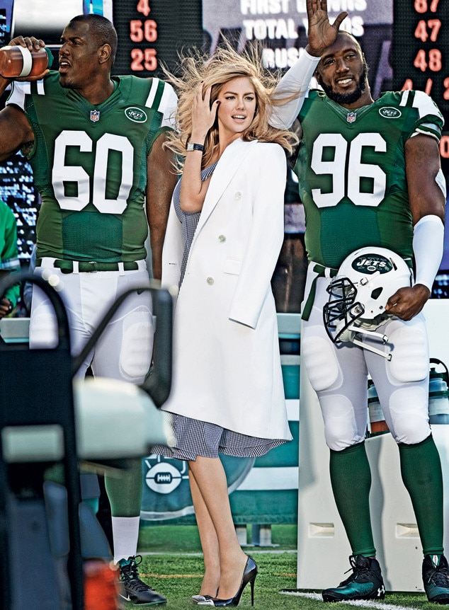 Kate Upton, Vogue Superbowl