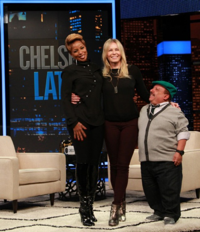 Mary. J Blidge, Chelsea Lately