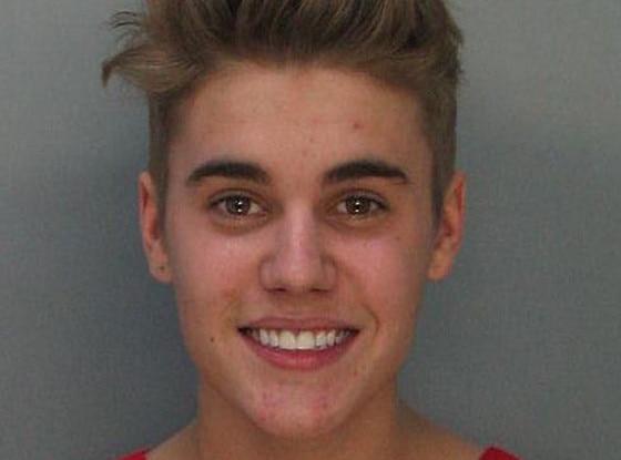 Justin Bieber, Mugshot
