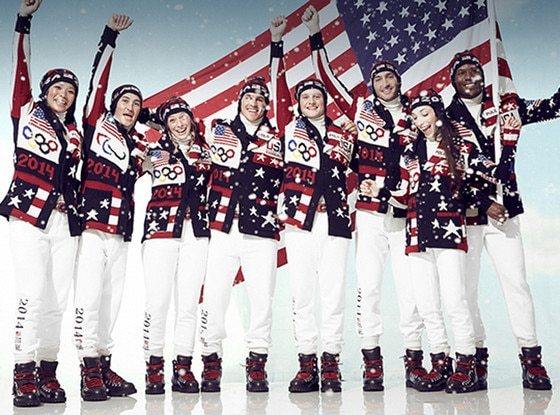 Olympic Ralph Lauren Uniforms