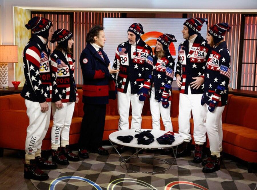 Olympic Ralph Lauren Uniforms, Today Show