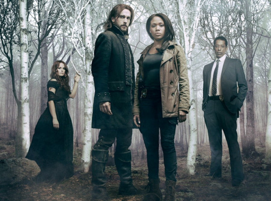 Sleepy Hollow Cast, Katia Winters, Tom Mison, Nicole Beharie, Orlando Jones.