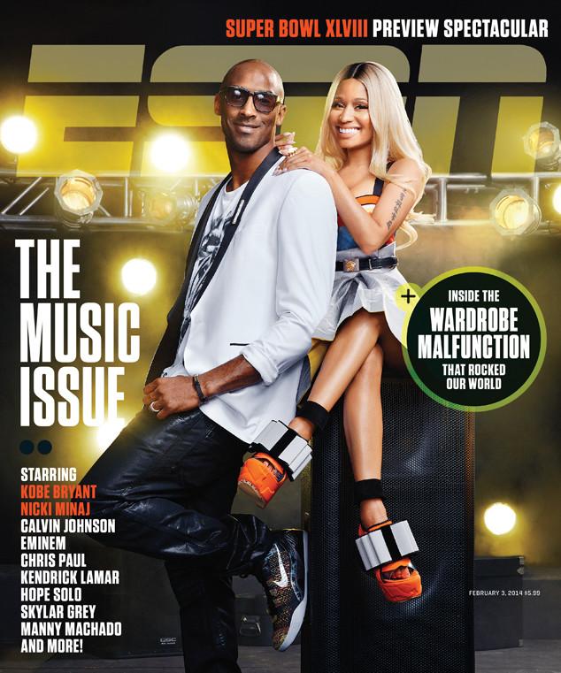 Nicki Minaj, Kobe Bryant, ESPN Magazine