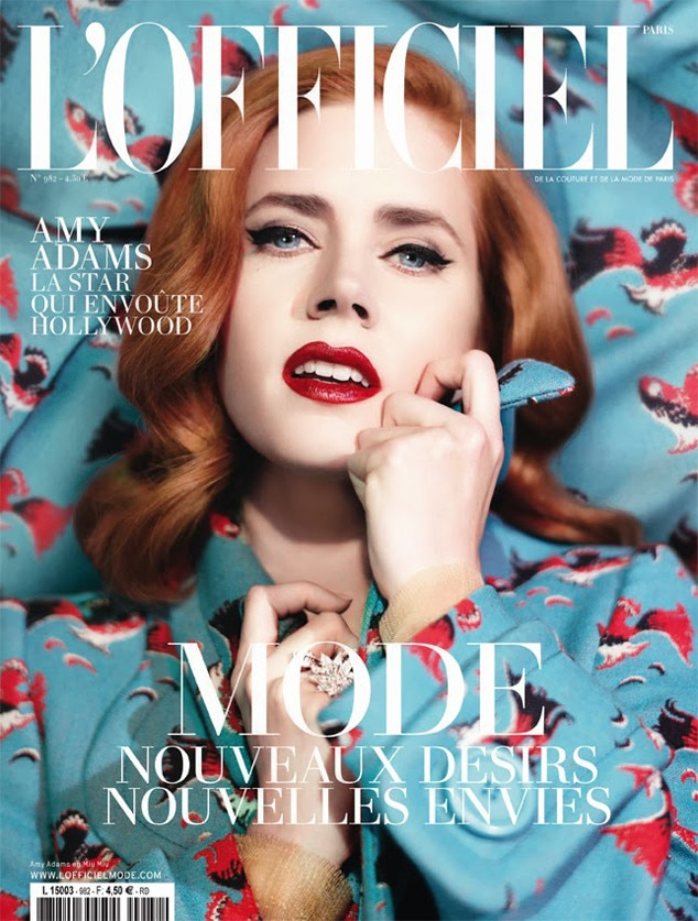 Amy Adams, L'Officiel Paris