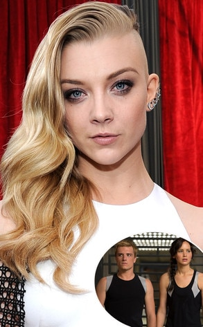 Natalie Dormer, Hunger Games, Shaved Head