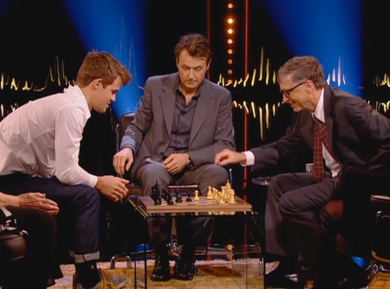 Bill Gates, Chess