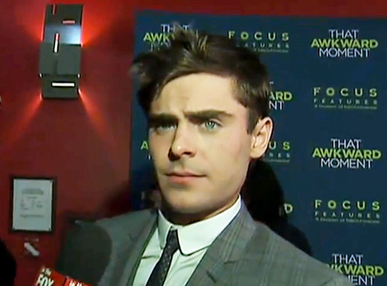 Zac Efron, FOX Interview