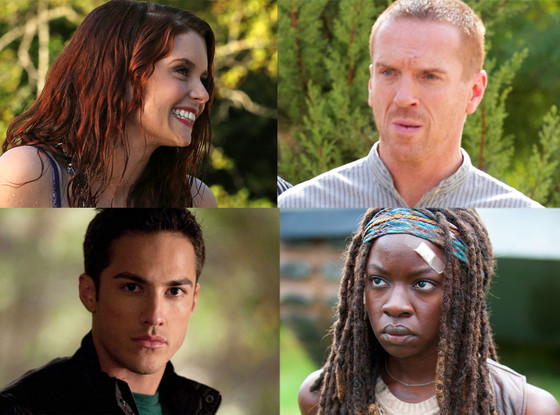 Once Upon a Time, The Walking Dead, The Vampire Diaries, Homeland