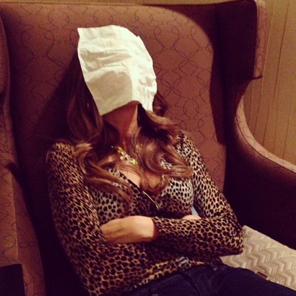 Sofia Vergara, Napping, Instagram