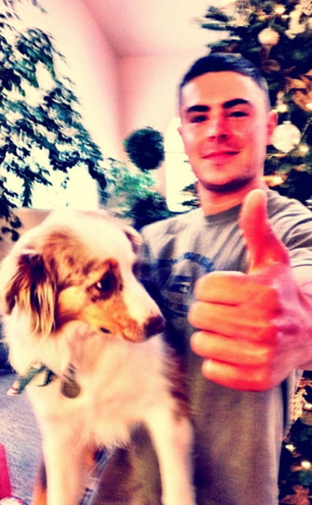 Zac Efron, Puppy