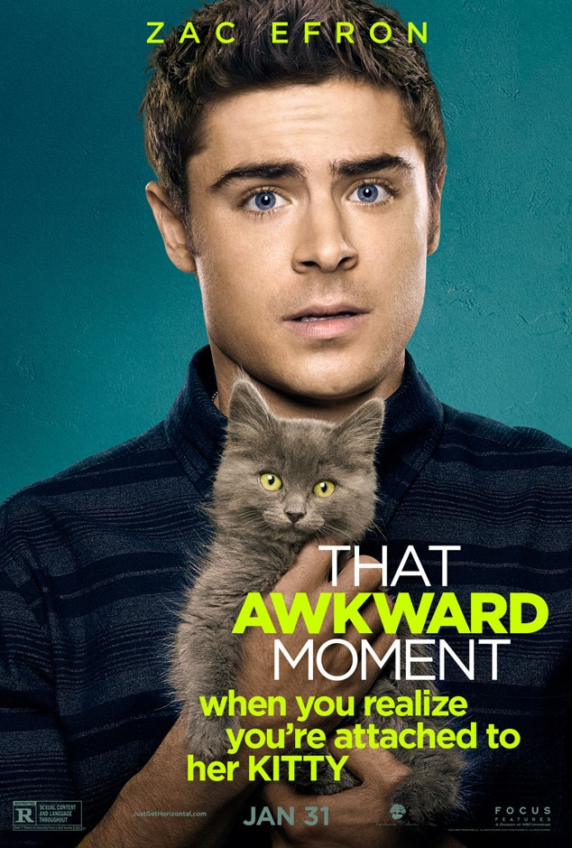 Zac Efron, That Awkward Moment Poster