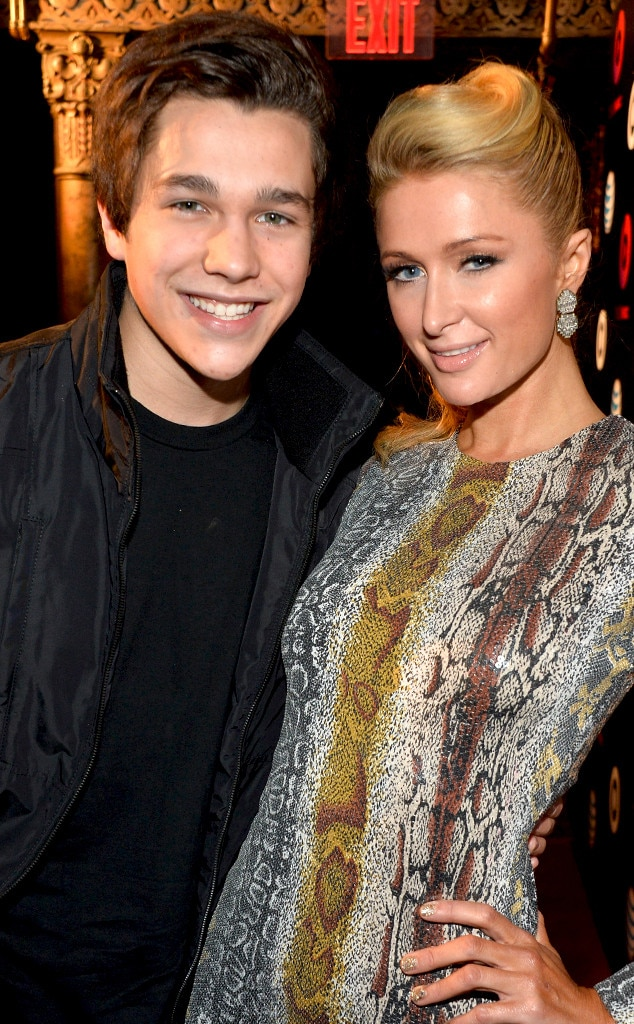 Austin Mahone, Paris Hilton